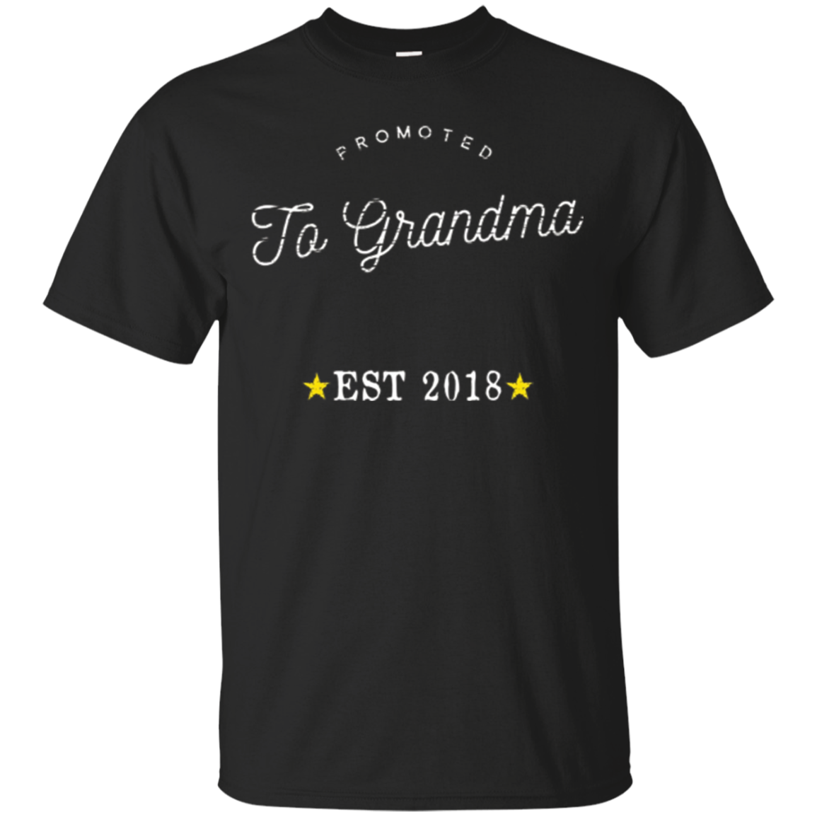 Promoted to Grandma TShirt New Grandmother To Be Expecting