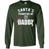 Image of Vintage Santa's Promoting Me to Daddy New Dad Santa Tshirt