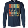 Image of Vintage Virgo 1990 T-Shirt 27 yrs old Bday 27th Birthday Tee