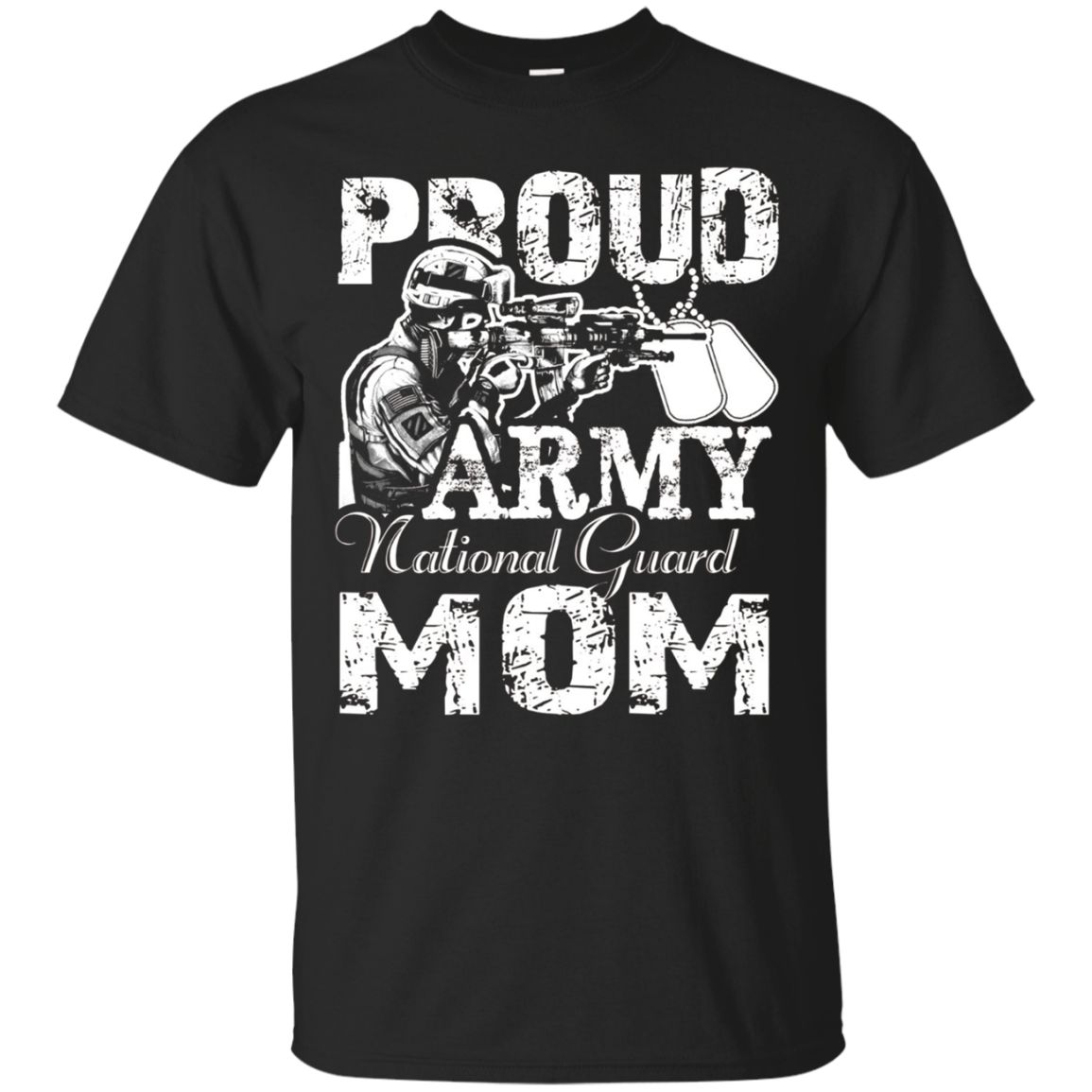 Proud Army National Guard Mom Shirt