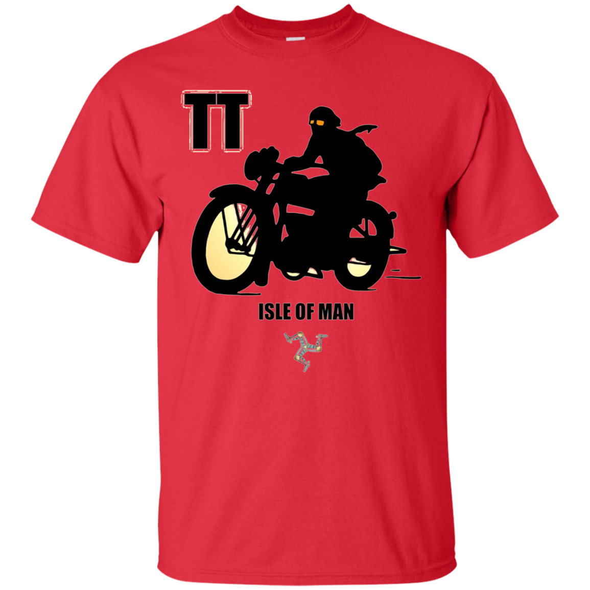 Isle Of Man TT Racing Biker T-Shirt