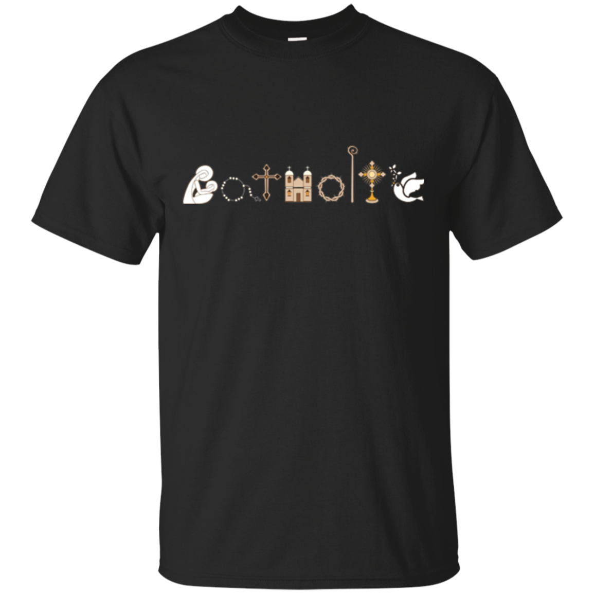 Religious Catholic Church Emblem Shirt