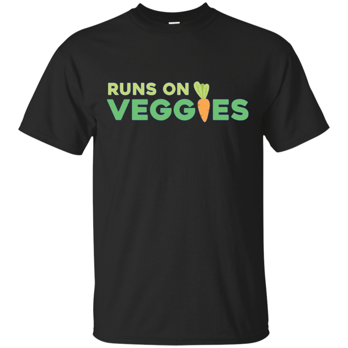 Long Sleeve Veggies Cute Vegan T Shirt Vegetarian Leaf Gift
