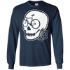 Image of Bicycle Skull T-shirt - Commuters, Cyclists & Bike Riders