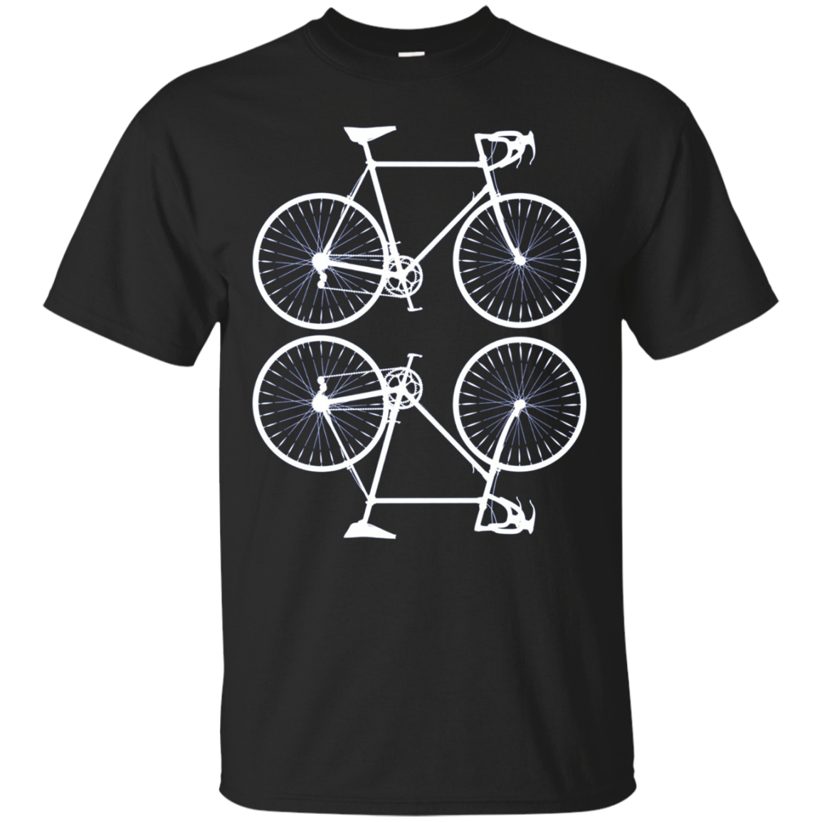 The Double Bicycle Funny Cycling Love Workout Shirt
