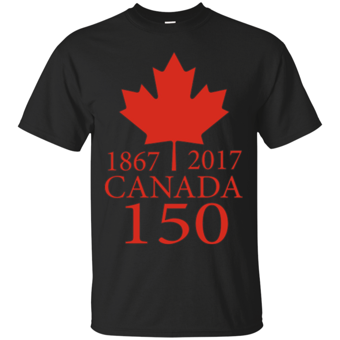 Canada Day 150 Years T-Shirt