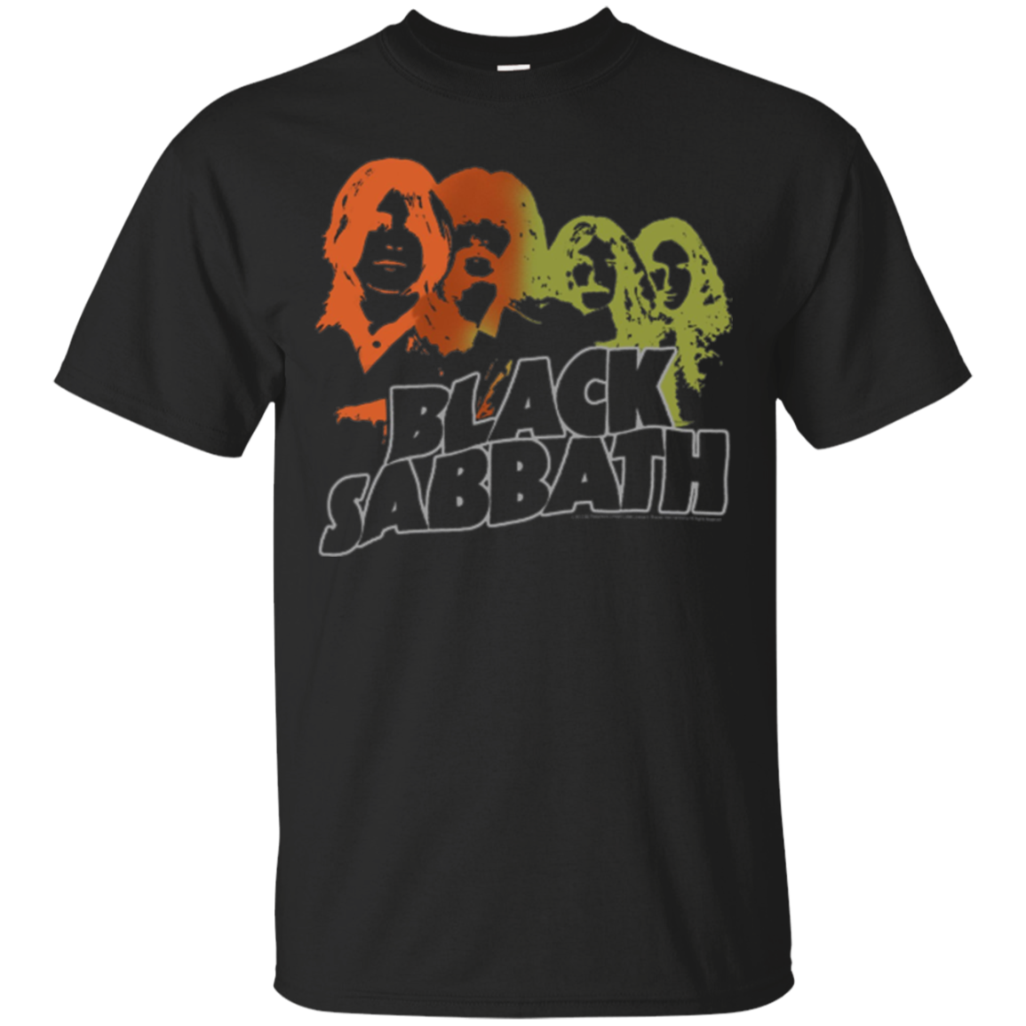 Black Sabbath Band Sketch Longsleeve