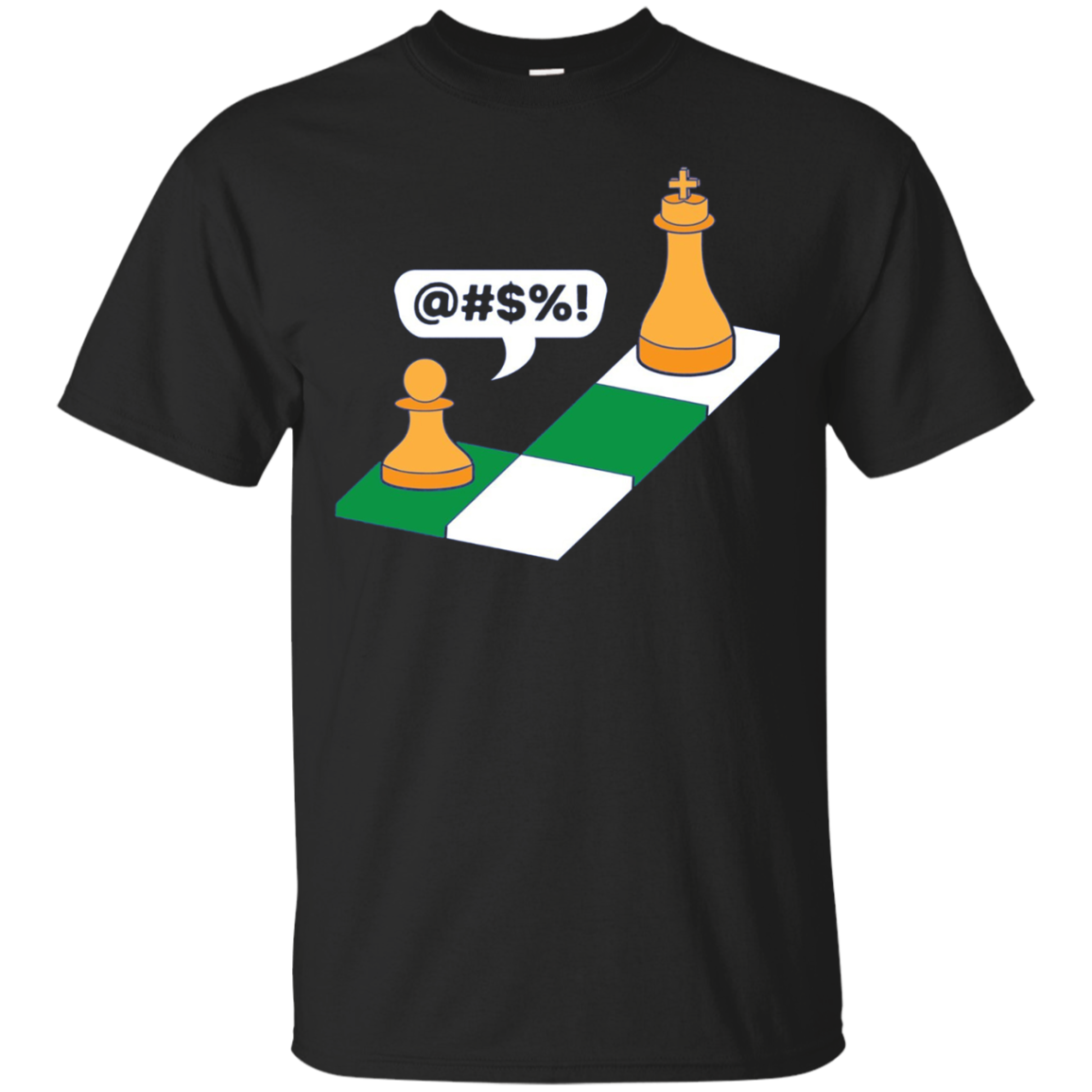 The King Capture The Pawn Gamers Chess Gift Long Sleeve Tee
