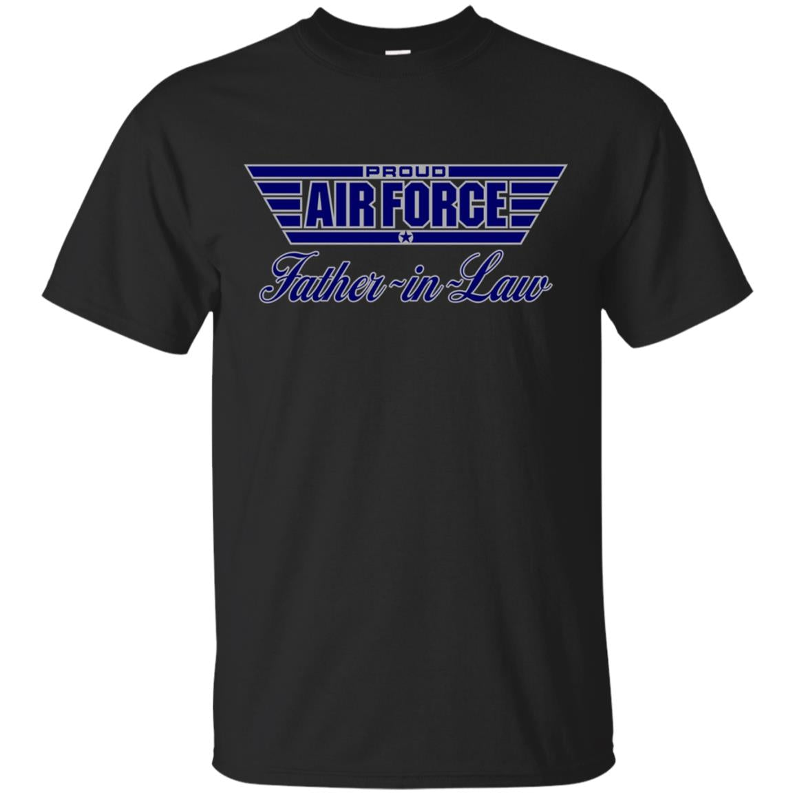 Mens Proud Air Force Father-in-Law T-Shirt