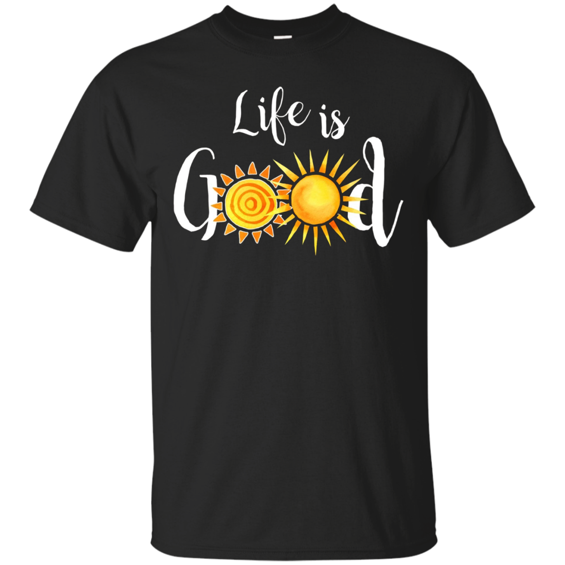 Colorful Life is really Good Vintage Sun Summer Art T-Shirt