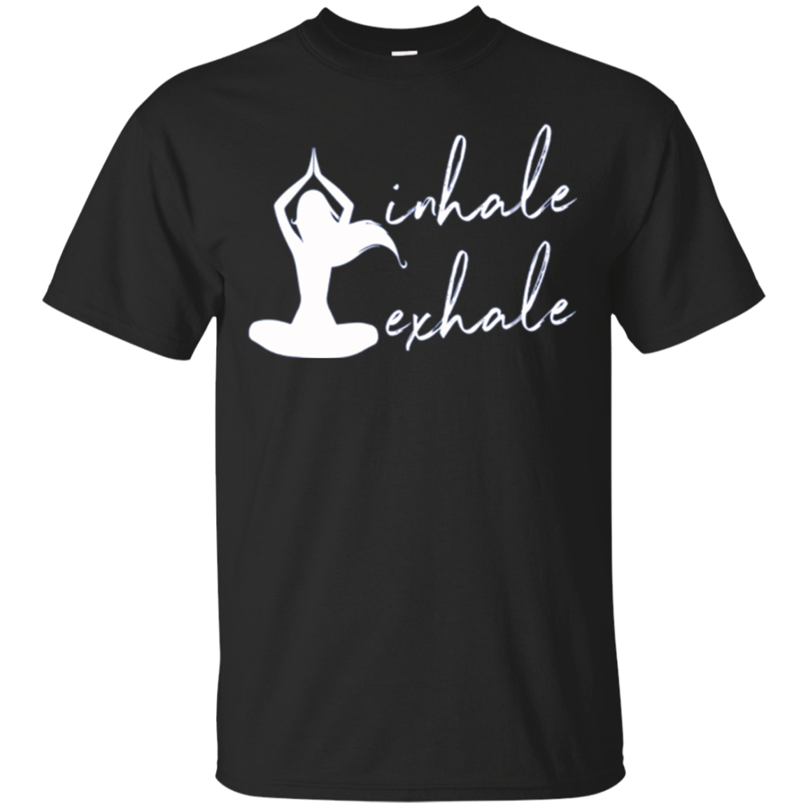 Inhale Exhale Yoga Funny Long Sleeve T-Shirt