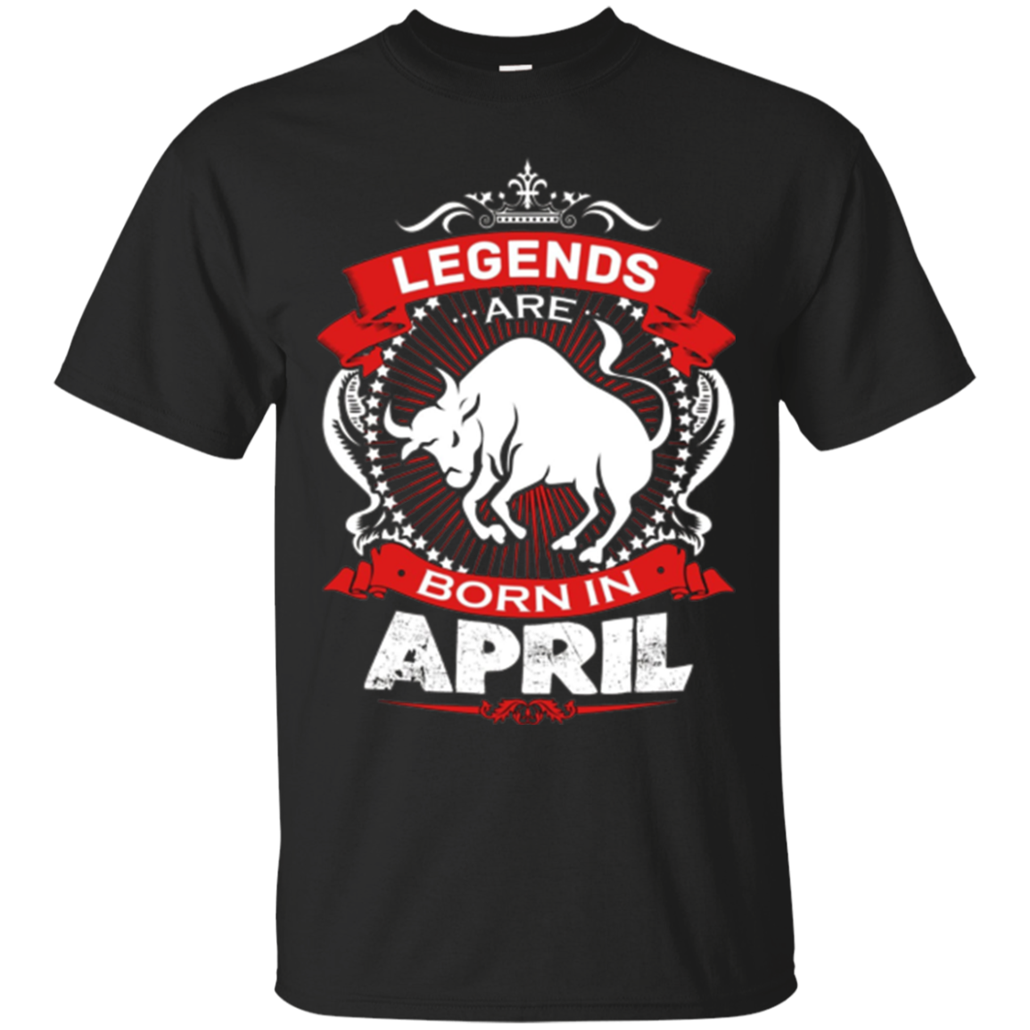 Birthday Gift For Men Born In April Taurus Zodiac Tshirt