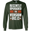 Image of 80th Birthday Gift 80 Years Old Version 80.0 Bday T-Shirt
