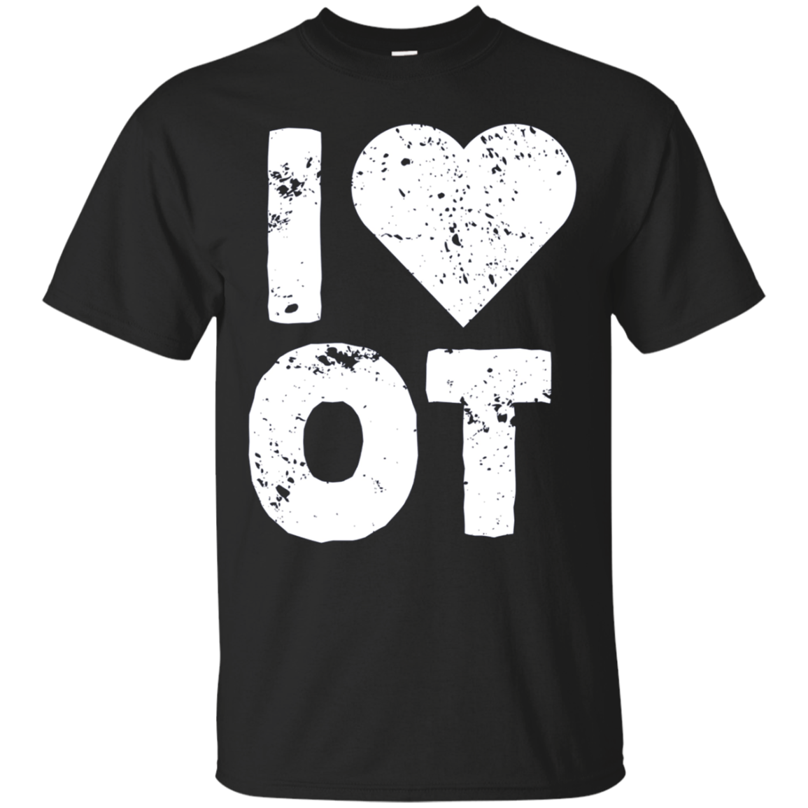 I Love OT Occupational Therapy Tshirt Gift Rehab Therapist