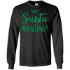 Image of I Can't, Santa is Watching Funny Claus Christmas Party Shirt