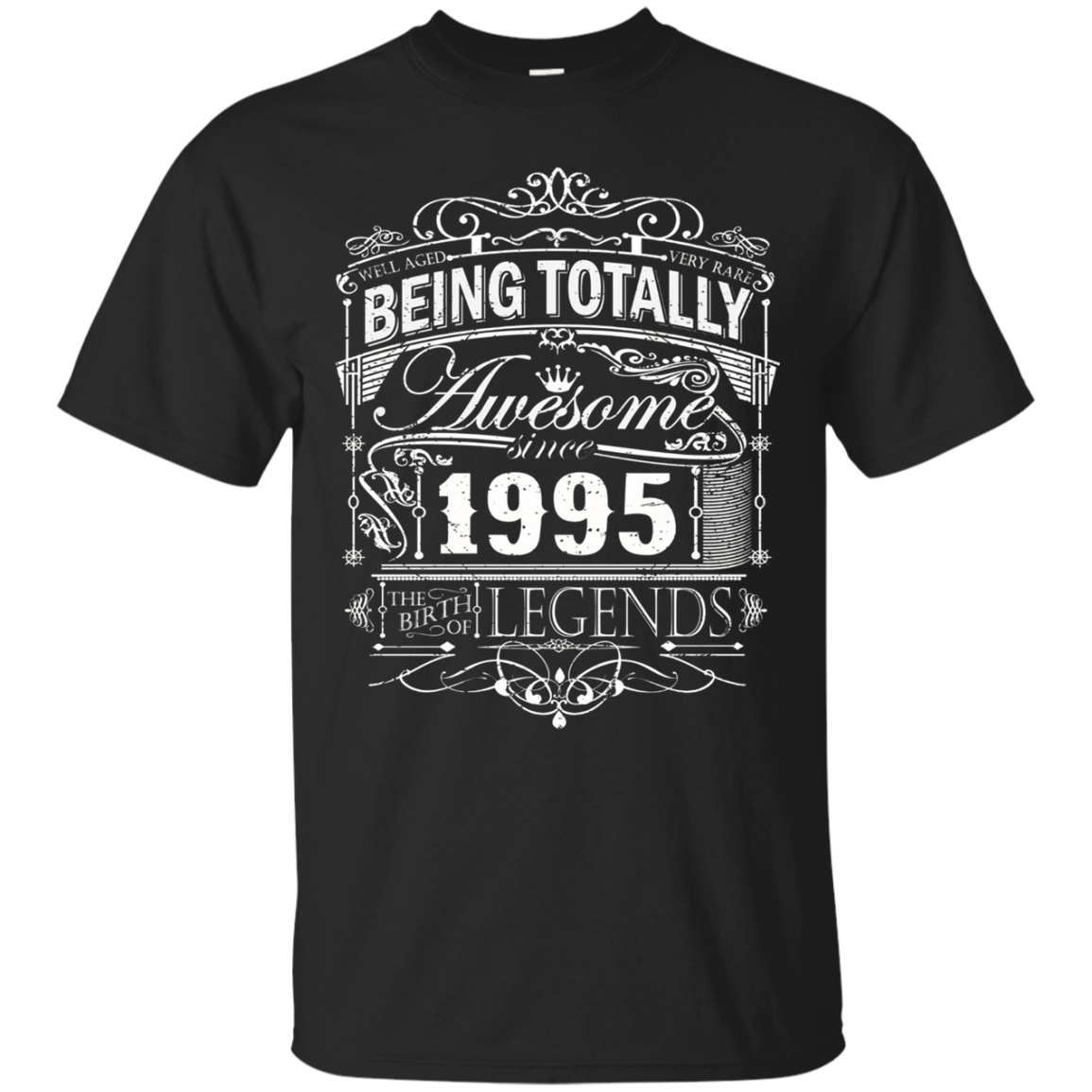Awesome Since 1995 22nd Birthday T Shirt 22 Years Old