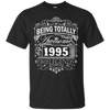 Image of Awesome Since 1995 22nd Birthday T Shirt 22 Years Old