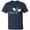 Image of Angel Uncle T-Shirt. Miscarriage Awareness Infant Loss