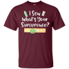 Image of I Sew Whats Your Superpower T-Shirt Funny Sewing Shirt