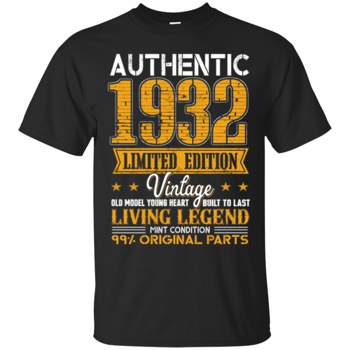 Legends Vintage Made In 1932 85th Birthday Gift 85 years old