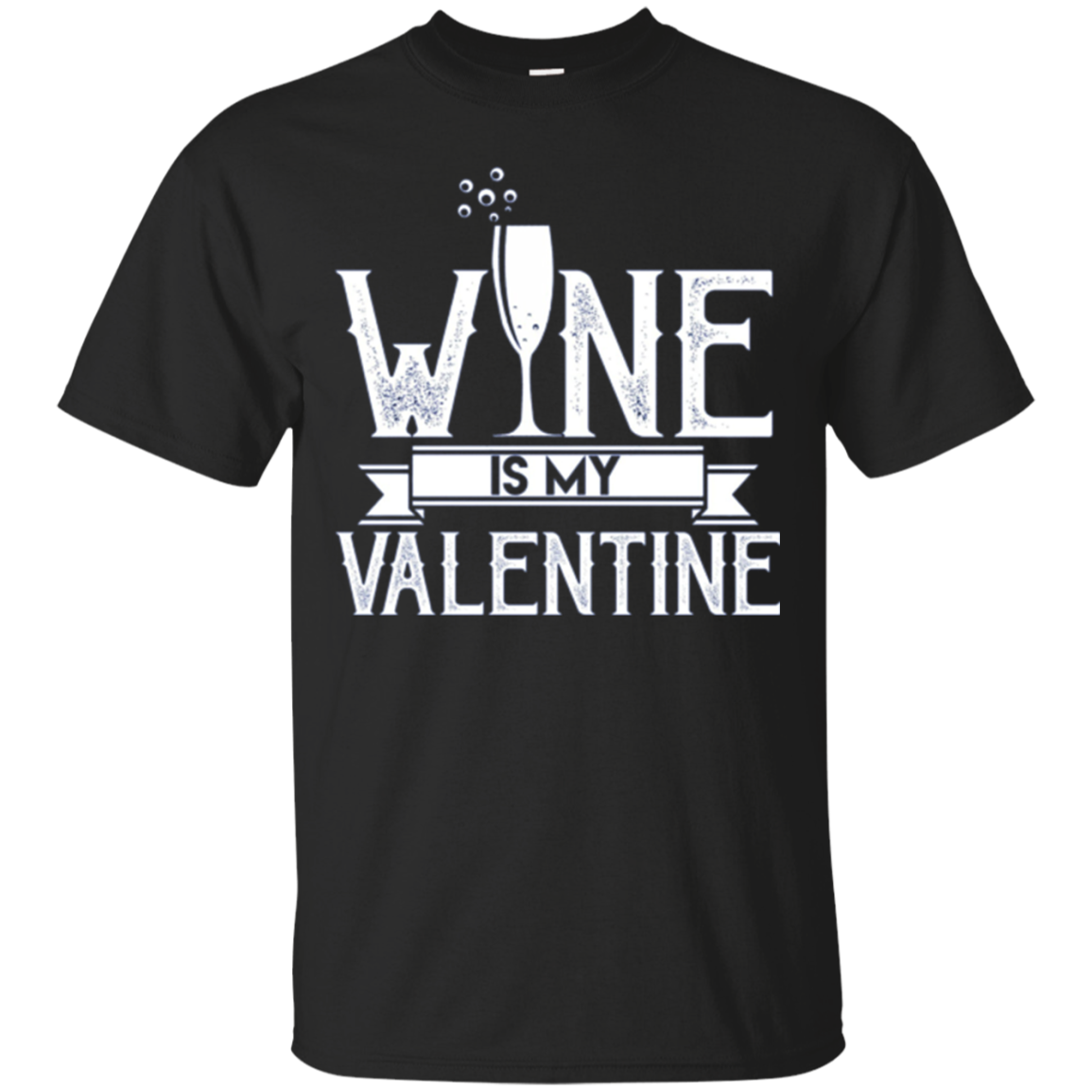 Wine is my Valentine Longsleeve Shirt Valentines