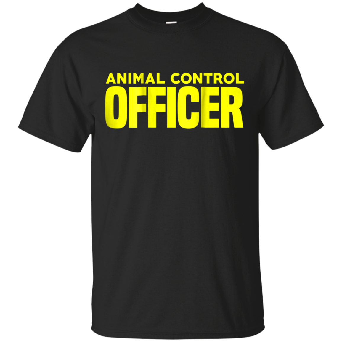 Animal Control Officer Public Safety Uniform Patrol T-Shirt