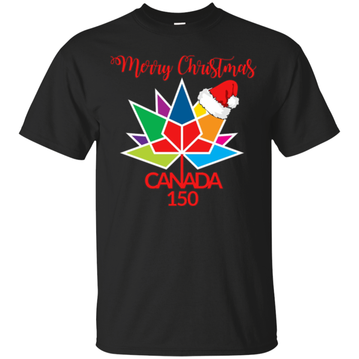 Merry Christmas Canada 150 T Shirt