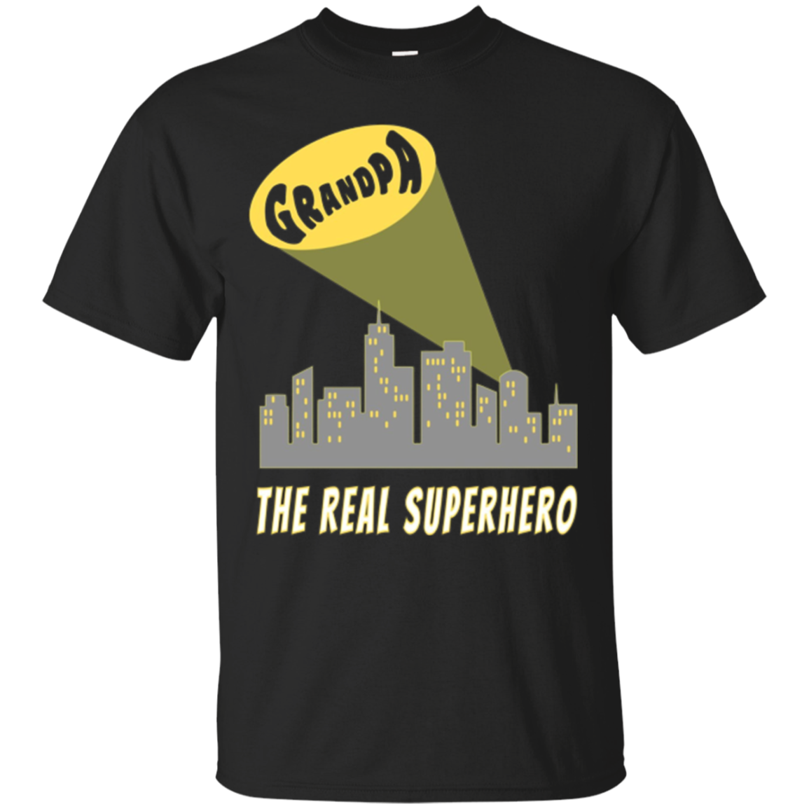 Grandpa - The Real Superhero T-Shirt