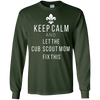 Image of Keep Calm and Let the Cub Scout Mom Fix This T-Shirt