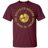 Image of Birthday Queen Shirts For Women - January Aquarius - Gold