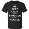 Image of Keep Calm and Snuggle with a Puggle T-Shirt