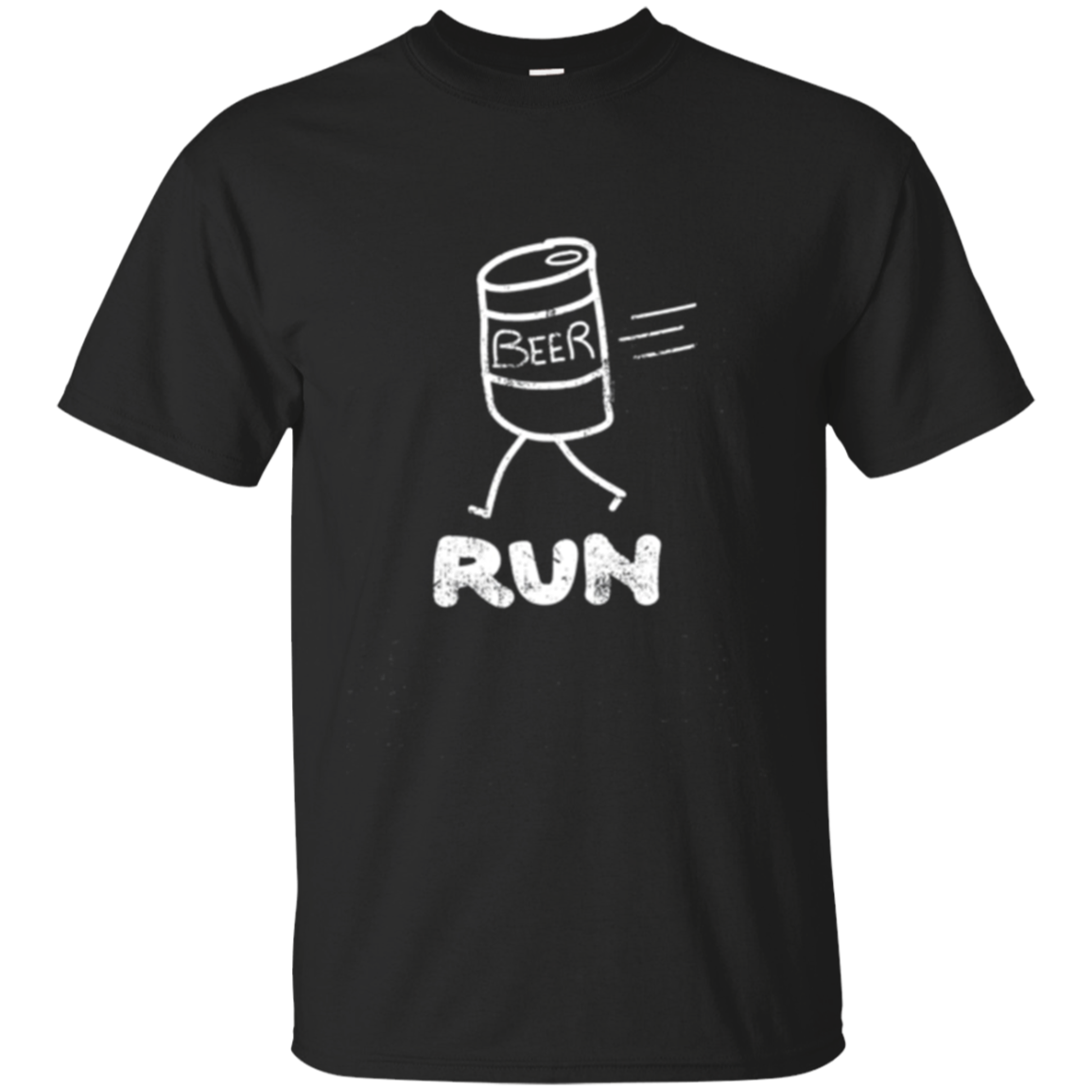 Beer Run - Adult Drinking T-Shirt