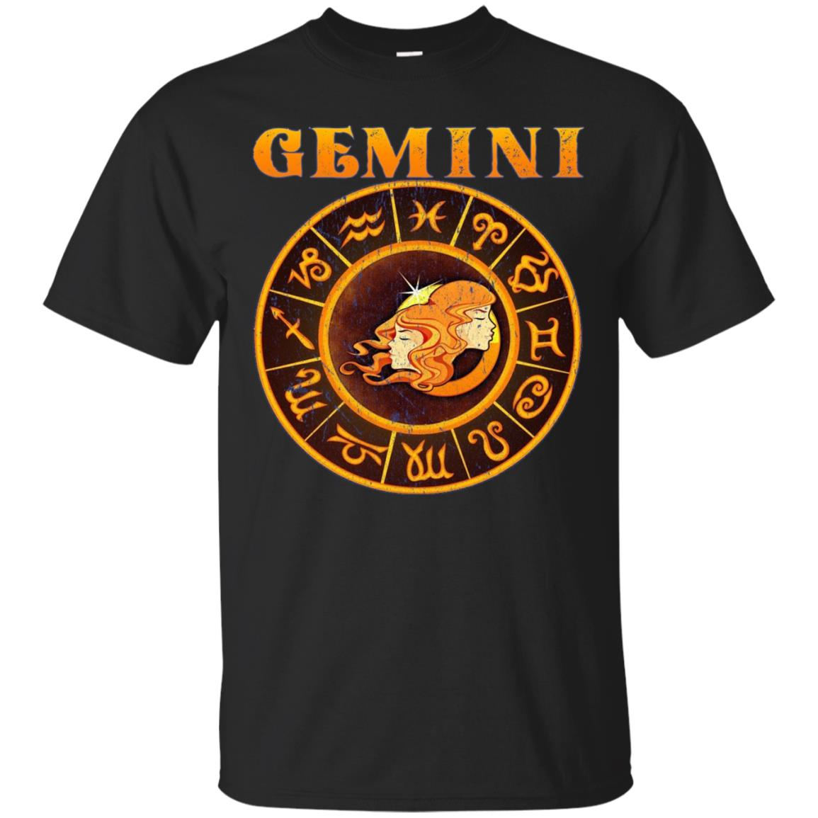 Gemini T-Shirt Long Sleeve Zodiac Astrology Sign