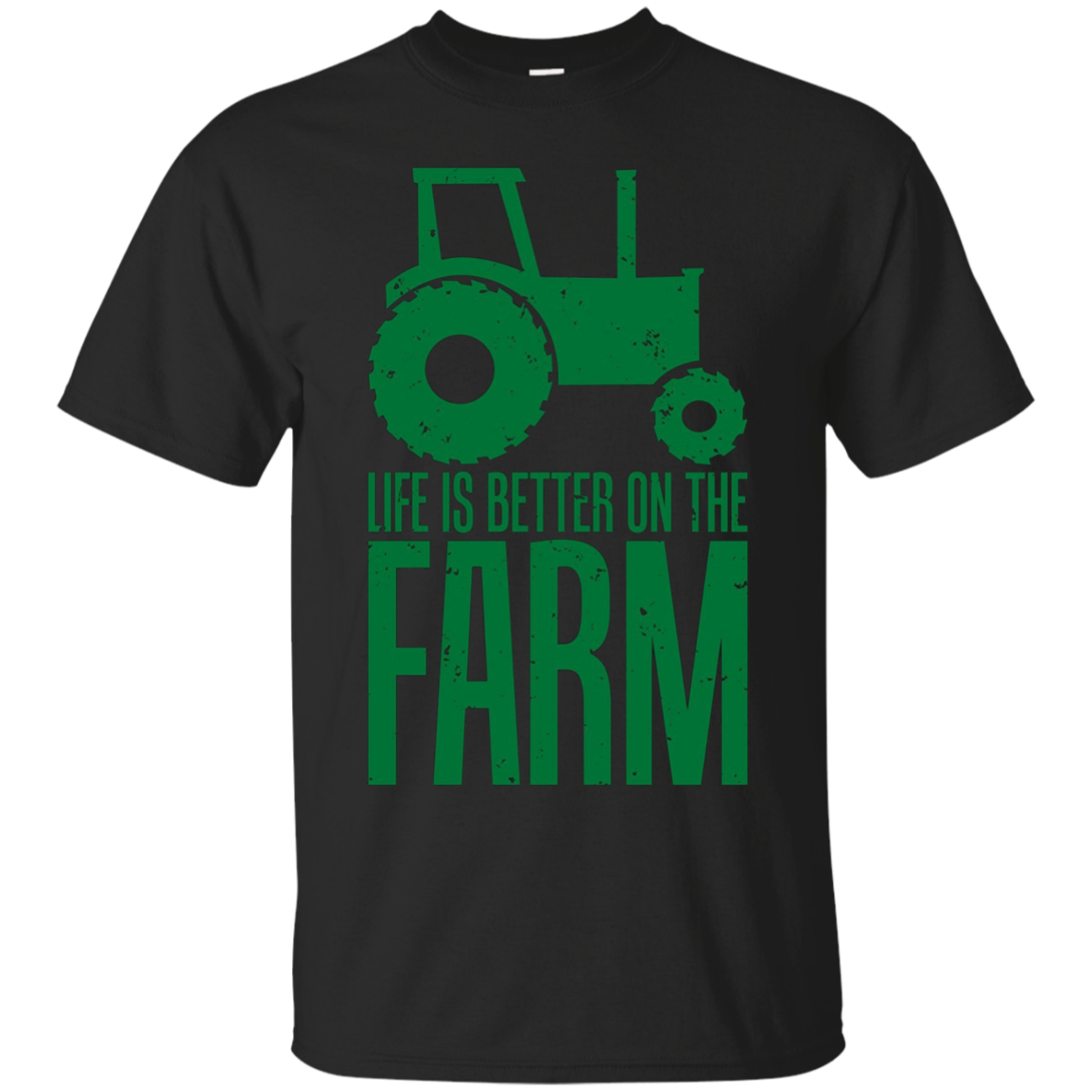 Life Is Better On The Farm Funny Farmers T-Shirt