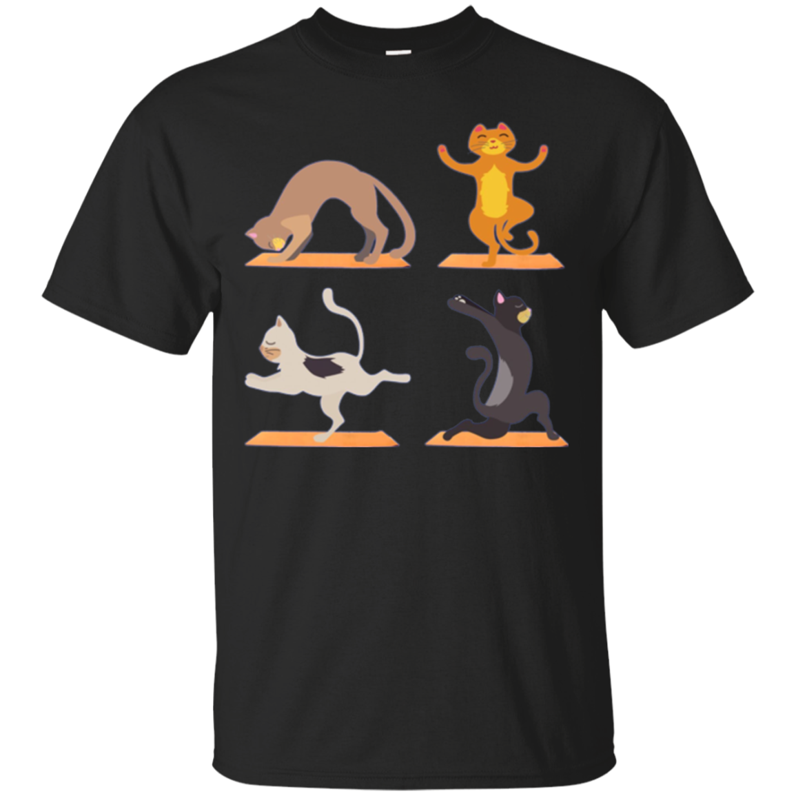 Cat Yoga Long Shirt Funny Gift for Cat Lovers