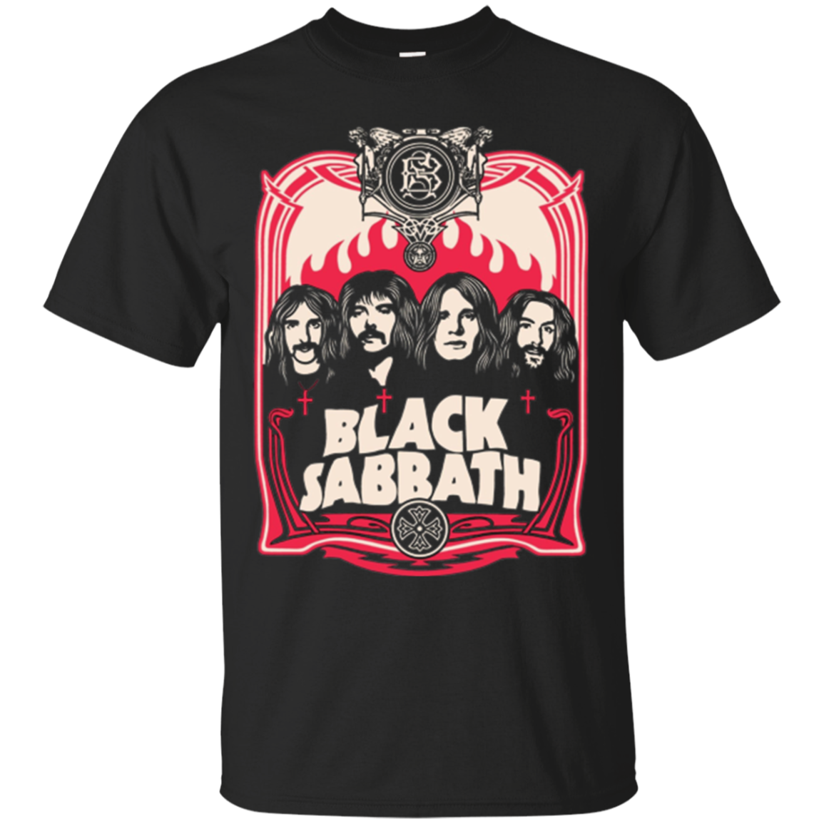 Black Sabbath Obey Band Drawing Longsleeve
