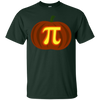 Image of Funny Halloween and Thanksgiving Pumpkin Pi Math Shirt