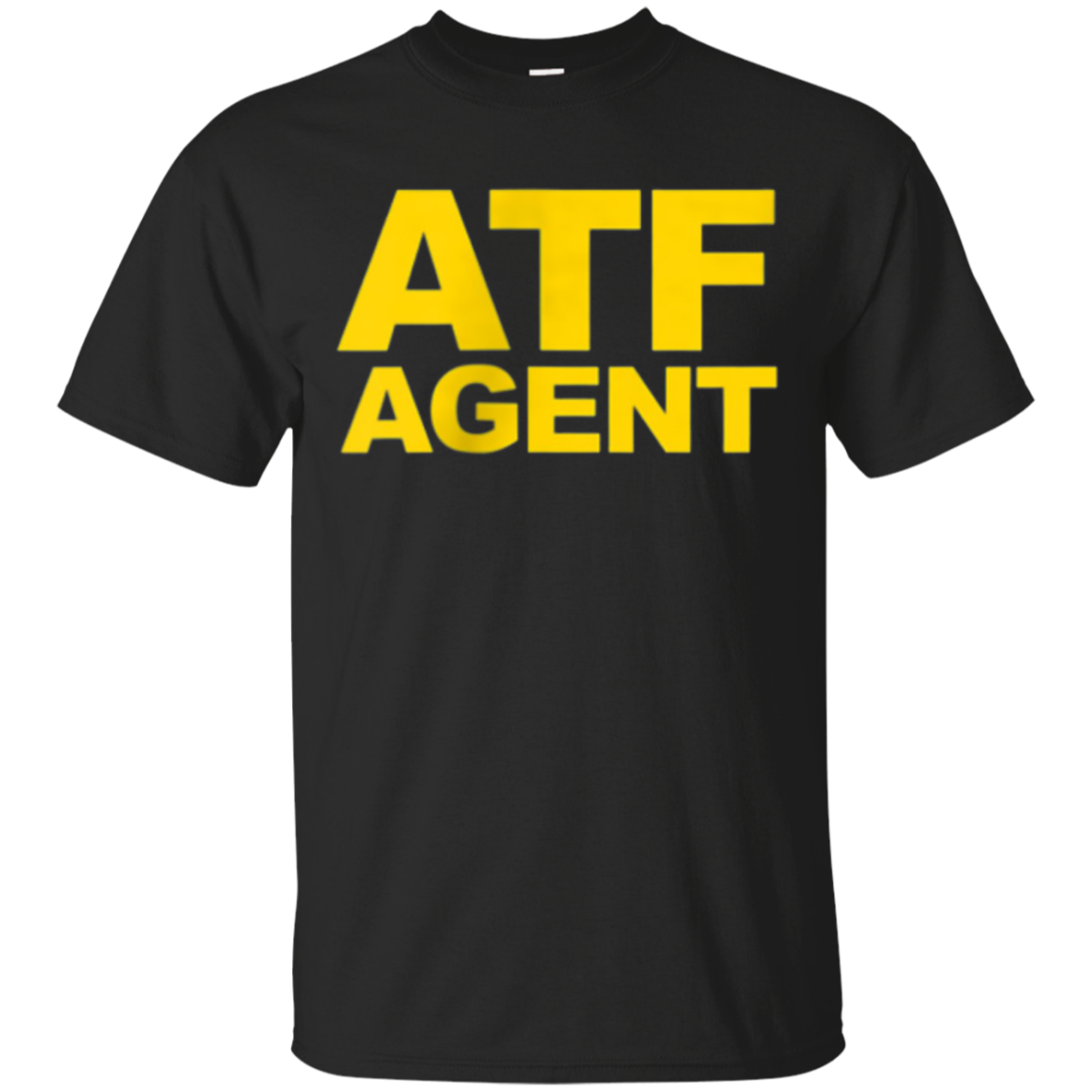 ATF Agent Shirt Navy Blue Front Back ATF Law Cosplay