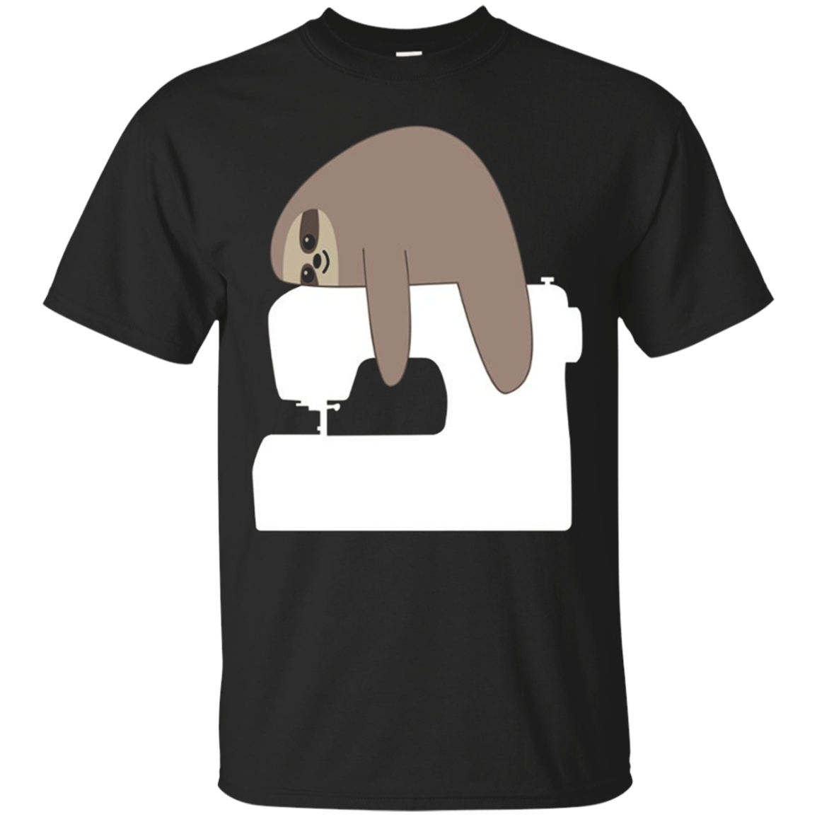 Sloth Sewing Machine Shirt, Funny Cute Seamstress Gift