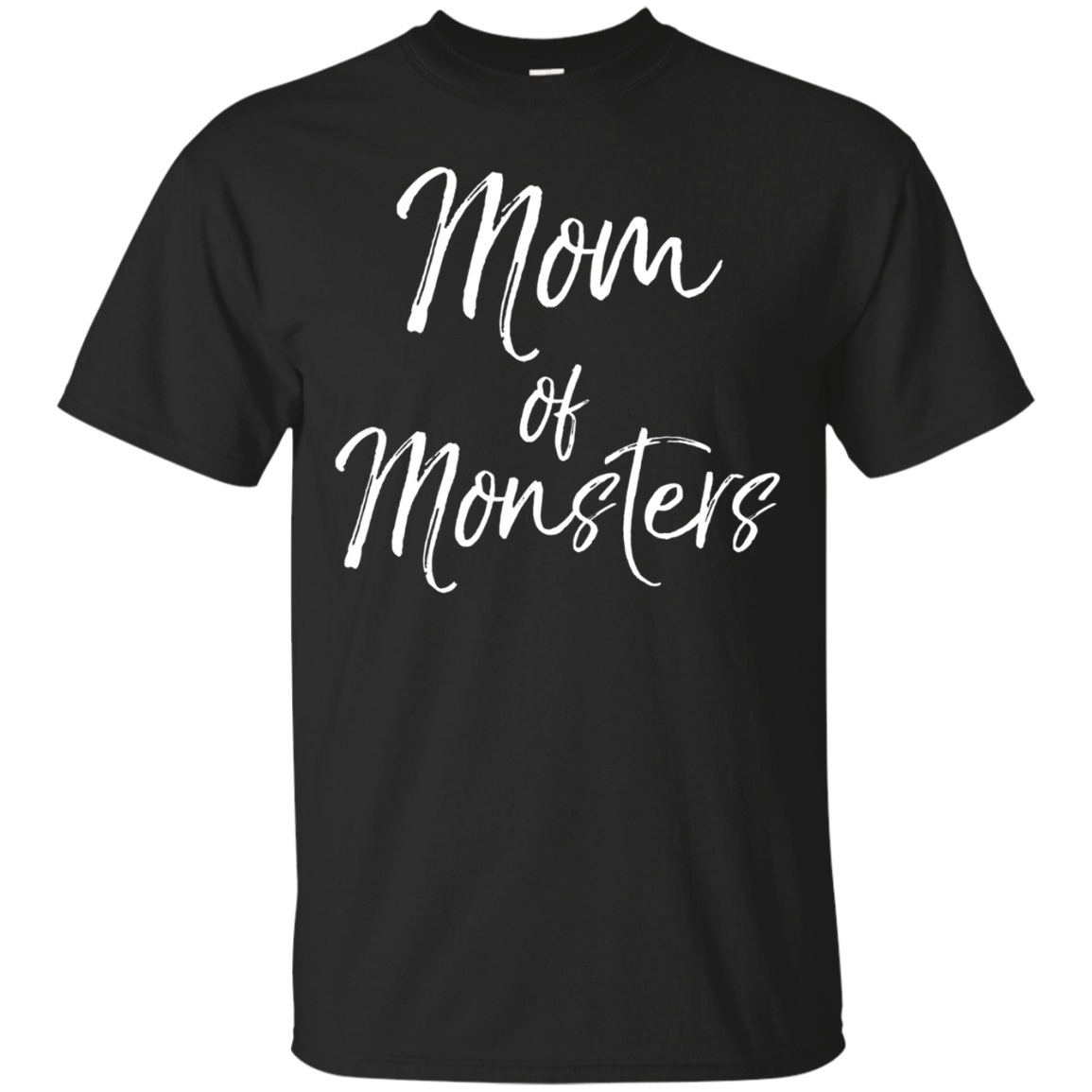Mom of Monsters Long Sleeve Shirt Funny Cute Boy Mom Shirt