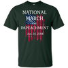 Image of National March Impeachment Anti Trump Resistance T Shirt