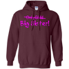 Image of Big Sister (Only Child crossed out) Cute and Funny T-shirt