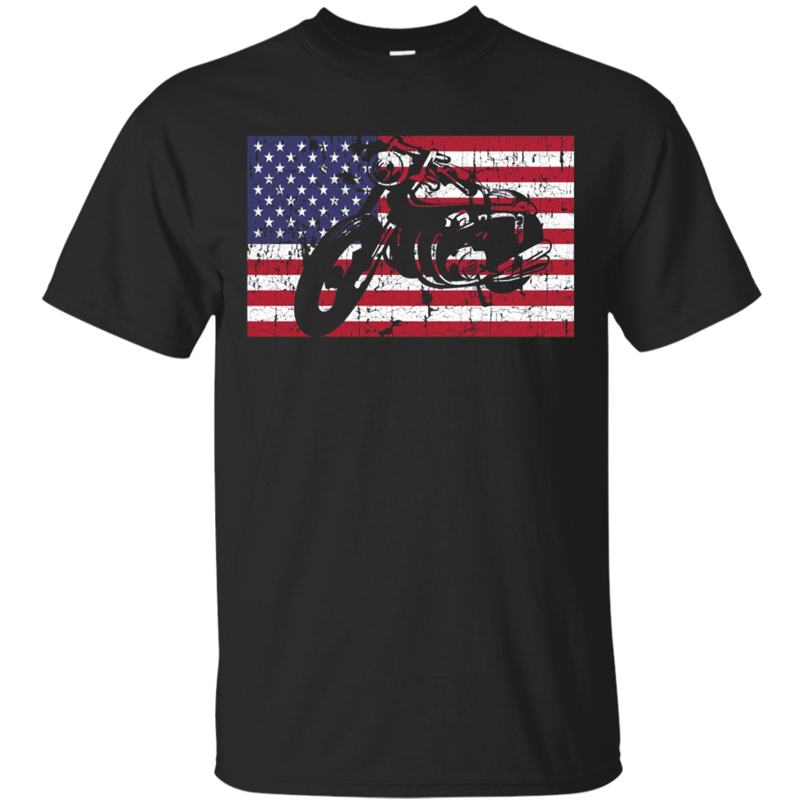 Pride American Classic Motorcycle Rider Long Sleeve USA