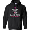 Image of I Can't Keep Calm Daughter's 13th Birthday Shirt