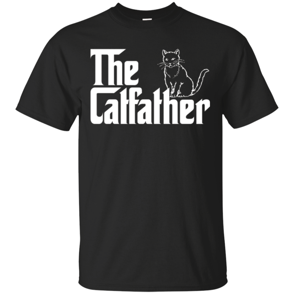 The Catfather T-Shirt | Funny Cat Lover T-Shirts