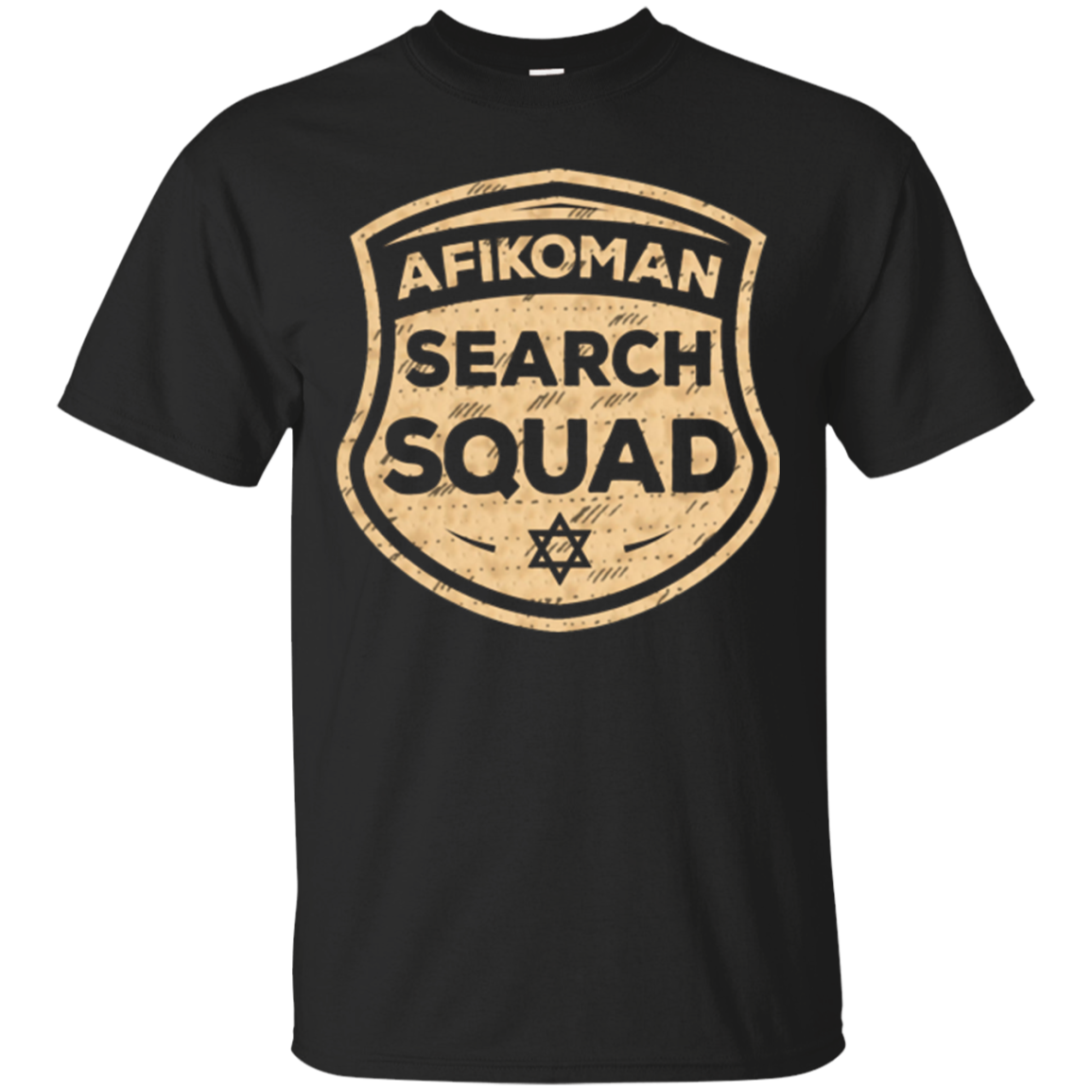 Afikoman Search Squad Funny Passover Seder Gifts T-Shirt