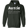 Image of Funny Aunt Gift Shirt - Auntie Definition T-Shirt