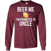 Image of Beer Me I'm Promoted To Uncle T-Shirt