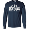 Image of Promoted to Daddy Shirt Gift for New Fathers and New Dads