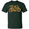 Image of Cafe Racer Tshirt - Ghost Classic Rider - Vintage Motorcycle